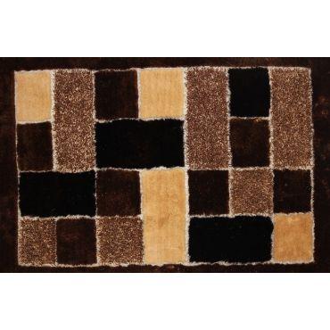 Shaggy Viscose 30 Brown Handmaid Rug
