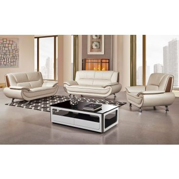 Shania Leather Modern Sofa Set,Shania Genuine Leather Modern Chair,Shania Genuine Leather Modern Love Seat,Shania Genuine Leather Modern Sofa