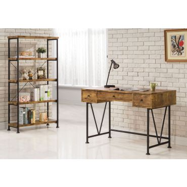 Shirley Industrial Style Writing Desk