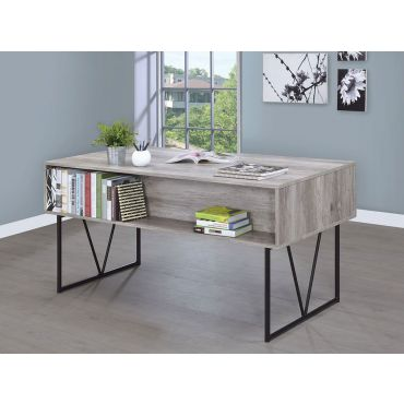 Shirley Grey Finish Writing Desk