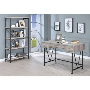 Shirley Grey Finish Home Office Desk