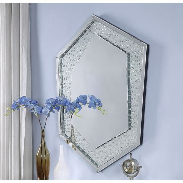 Sienna Wall Mirror With Crystals
