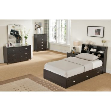 Simon Storage Bed With Display Headboard