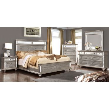 Soho Silver Finish Bedroom Furniture