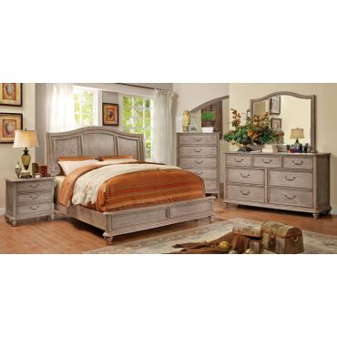 Sonoma Rustic Natural Finish Bed