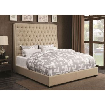 Soyler Tall Headboard Bed King Size