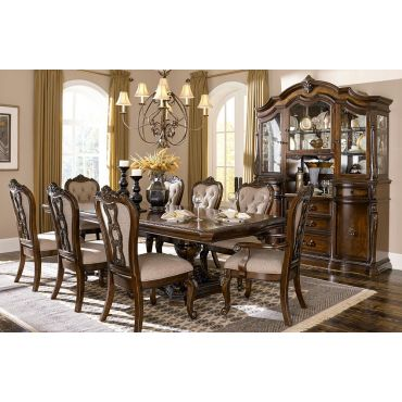 Spanish Bay Traditional Style Dining Table Set