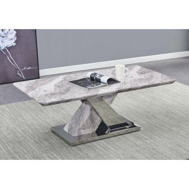 Stanford Faux Marble Coffee Table