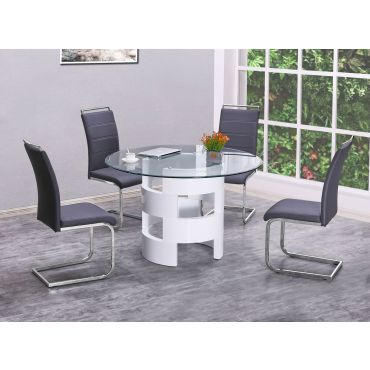 Stardust Round Dining Table Set