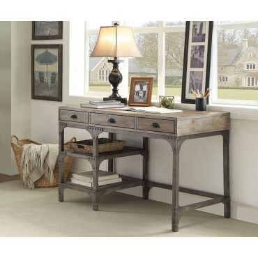 Stevens Industrial Style Office Desk
