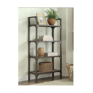 Stevens Bookcase Industrial Style
