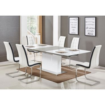 Sven Modern Lacquer Dining Table