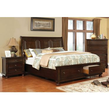 Sylvania Storage Sleigh Bed