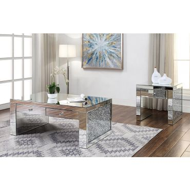 Temptation Modern Swivel Top Coffee Table