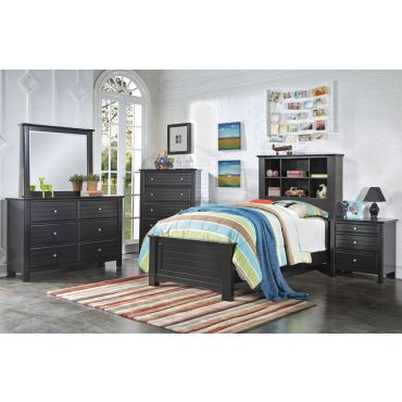 Tiana Black Youth Bedroom Collection