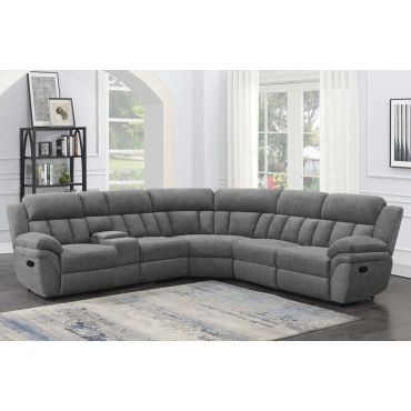 Tracey Recliner Sectional Sofa Set