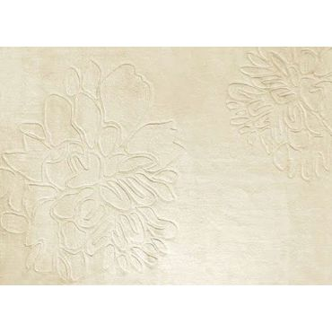Beige Contemporary Area Rug TF18