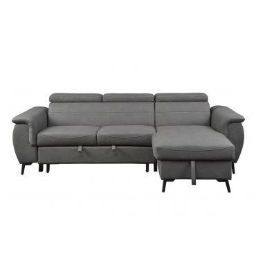Turner Grey Sectional Sleeper