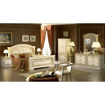 Aida Traditional Style Bedroom Set