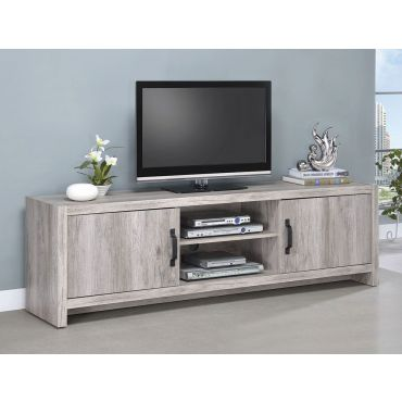 Vagna Grey Driftwood TV Console