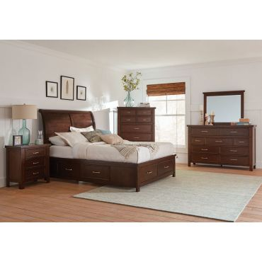 Valerie Platform Bed With Storage