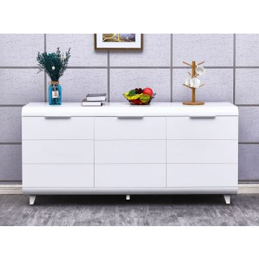 Vanguard Modern White Buffet