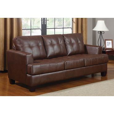 Varina Brown Sofa With Pull-Out Sleeper