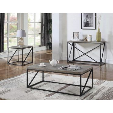 Vendi Industrial Style Coffee Table