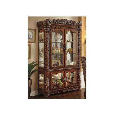 Vendome Victorian Style Curio Cabinet