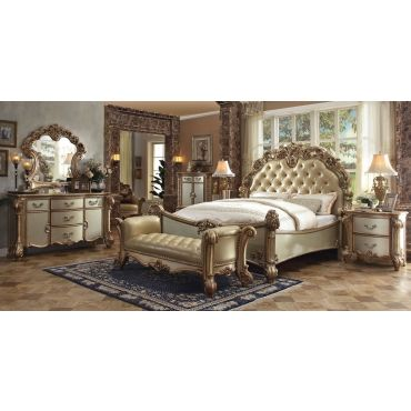 Vendome Patina Gold Bedroom Collection