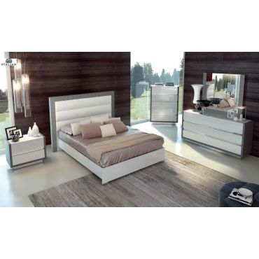 Vicetia Modern Platform Bed Collection