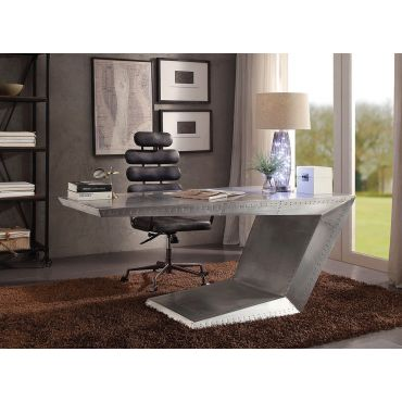 Vincent Aluminum Home Office Executive Desk
