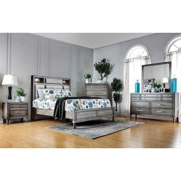 Vine Transitional Style Bedroom Collection