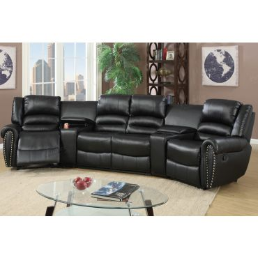 Wales Theater Recliner Sectional