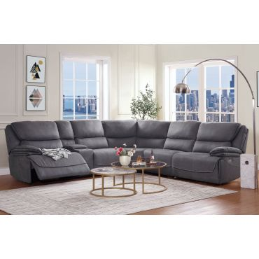 Wesley Modern Power Recliner Sectional