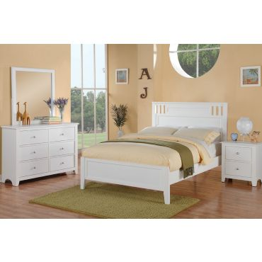 Veracity White Finish Youth Bedroom