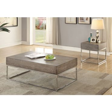 Woodlake Contemporary Coffee Table