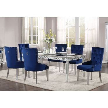 Wrentham Mirrored Dining Table