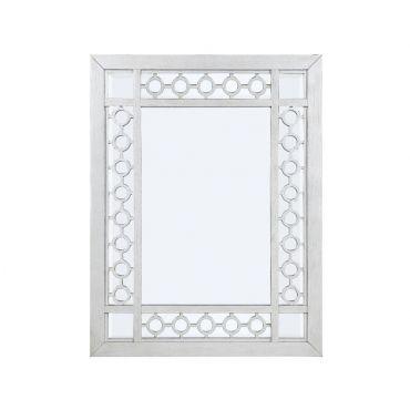 Alfie Contemporary Silver Wall Mirror