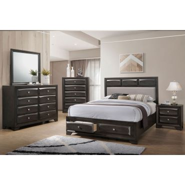 Zandra Bed With Storage Drawers