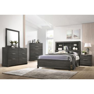 Zavier Bed With Display Headboard