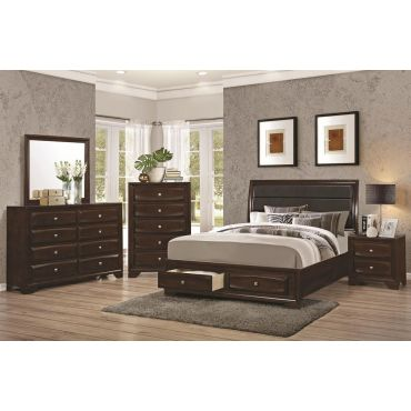 Zeigler Bed With Two Storage Drawers