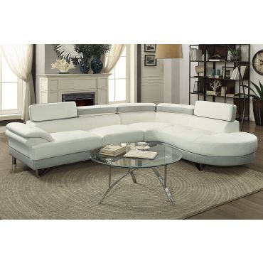 Zelma Two Tone Modern Sectional