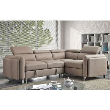 Zels Modern Sectional With Sleeper
