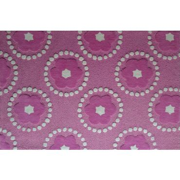 Flowers Kids Room Hand Tufted Rug
