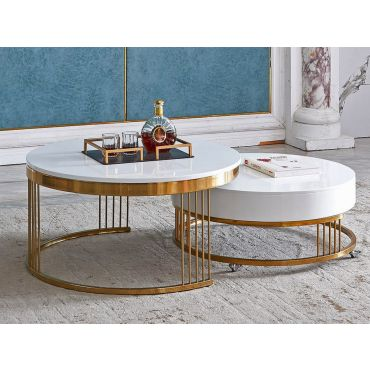 Zogra Coffee Table With Nesting Table