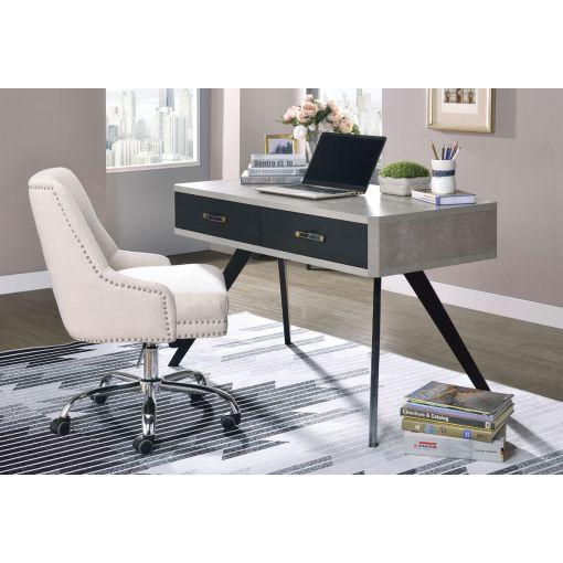 Abida Concrete Finish Desk