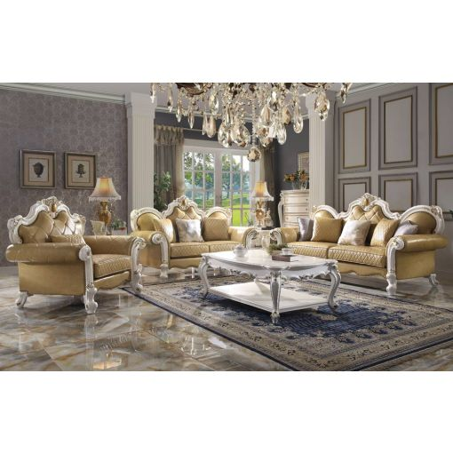 Alexandra Traditional Style Sofa Collection