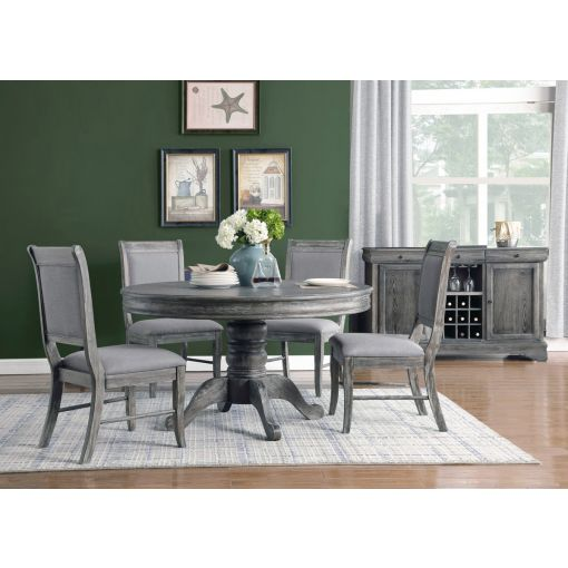 Beaugrand Round Dining Table Set