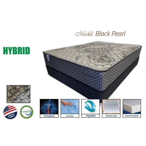 Black Pearl Foam Encased Hybrid Mattress